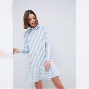 ASOS Cotton Shirt Dress with Pephem